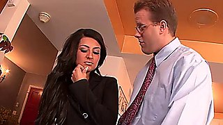 Sexy secretary banged by the boss