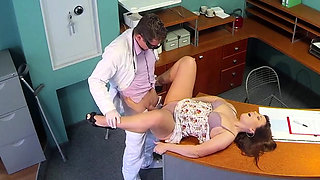 Hot fake doctor hardcore with cumshot
