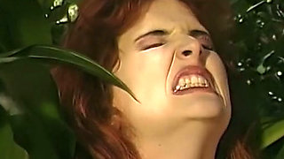 Fine and wicked redhead milf gets her asshole fried with a fat sausage