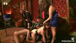 Bella Rossi & Kristine Kahill in Lounge Slaves - TheUpperFloor