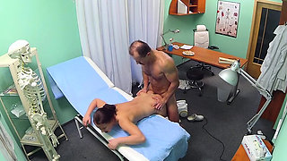 Hot nurse sex with creampie