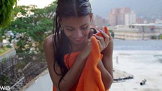 Denisse Gomez - Wet Micro Bikini