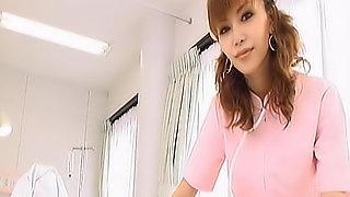 Akane Hotaru is a hot Asian nurse