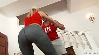 Sweet Cat is a fit blonde who is up for a great fuck with a fellow