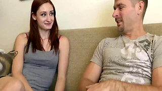 Violet Monroe - Dad Helps Me Get Pregnant Part 1