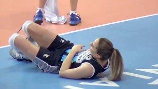 Turkish volleyball girls damla cakiroglu hale kantarciogu