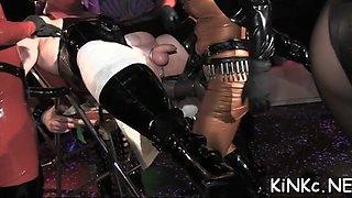 babe dominates lover hard fisting segment 1