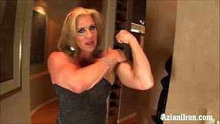 big strong girls do it better two dildo fitness models