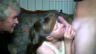 Mature hot wife takes cock