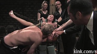 Racy group punishment