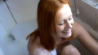 Student teen British girl