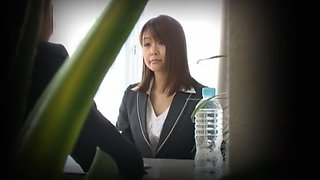 Exotic Japanese slut in Best Hidden Cams, Secretary JAV movie