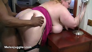 big tits granny gets her first bbc