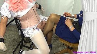 Sissy Pantyhose Milking