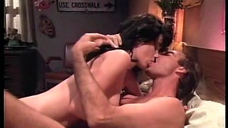 Amazing sex with the sexy brunette Roxanne Blaze in vintage clip