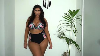 Chubby model bikini
