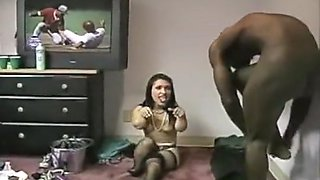 Midgets take on black cock