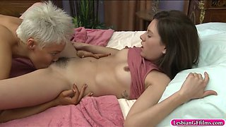 shyla jennings and ryan keely lesbosex in the bedroom