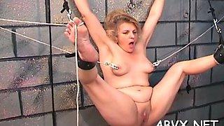 extreme bondage for hot babe video segment 1
