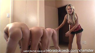 oiled up teens getting all twisted up naked on top of