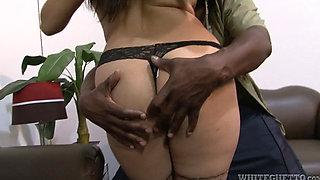 Mika Tan enjoys a Black Kong Dong