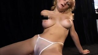 Teen bride with big tits