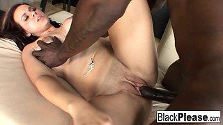 Big boobed Rachel lets a BBC cum inside her