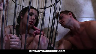 DeviantHardcore - Cock Worshiper Casey Gets Dominated