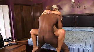 BLONDE MILF CHEATING INTERRACIAL FUCK