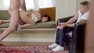Hot Teen Punished And Cumshot