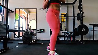 yes!!! fitness hot ASS hot CAMELTOE 85