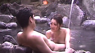 Japanese Cuckold Story In Konyoku Onsen Spa