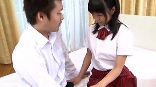 Nana Nanami naughty Asian schoolgirl in hot cosplay fucking