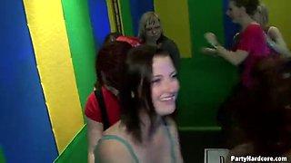 amazing vip orgy with european drunken party girls