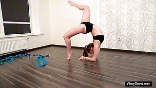 Hot Petite Gymnast Anna