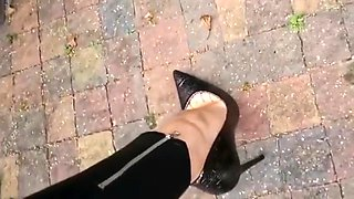 Heels and Feet Tease