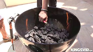 brooke sinclaire in her smoking hot briquettes