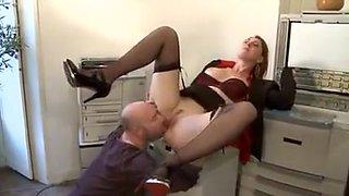 Exotic Fetish, Office sex clip
