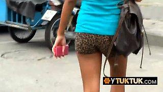 Bigdicked tourist nailing BUSTY ASIAN CHICK