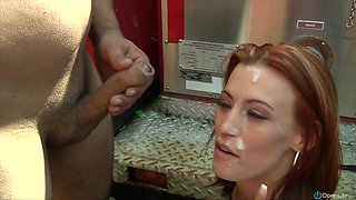 Amy Lee enjoys outdoor rear banging with Kevin 30 Seconds