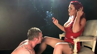 paige delight smoking 120mm fetish