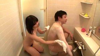 Best Japanese model Natsu Aoi, Kami Kimura in Exotic Couple, Teens JAV movie