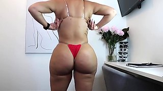 Huge Phat Butt Thong Bikini and G-string Try On