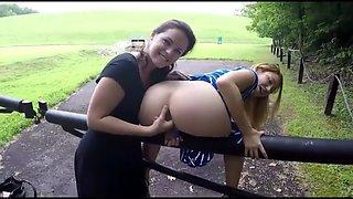 Outdoor Public Girls