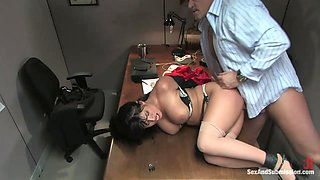Mark Davis & Eva Angelina in Dirty Little Secretary - SexAndSubmission