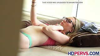 blonde in glasses roxy nicole gets banged