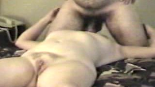 Passed out wife gets face fucked
