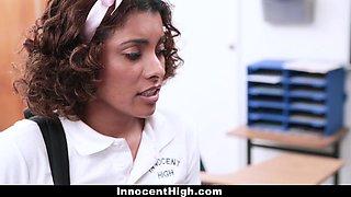 InnocentHigh - Hot Cheating Schoolgirl Punished