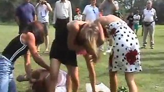 Wedding catfight