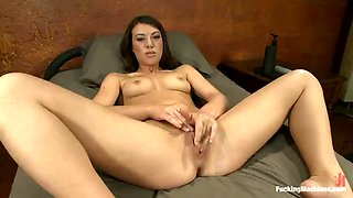 anal pleasure for tiffany doll with a fucking machine